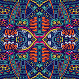 Abstract festiveal ethnic tribal pattern Stock Image