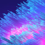 Abstract Fiber Optics Background  - Vector Illustration Stock Photos
