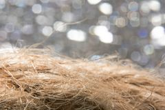 Abstract fibrous background with bokeh macro. Abstract fibrous background with bokeh close Stock Images