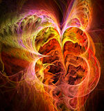 Abstract fiery background. Digital generated this image Royalty Free Stock Photos
