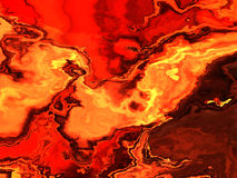 Abstract fiery background Stock Photography