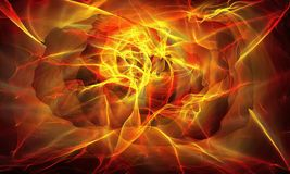 Abstract fiery background. Abstract ardent background,  Abstract glowing futuristic background with lighting effect, Abstract fiery background Royalty Free Stock Photo