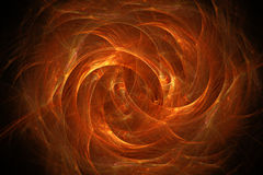 Abstract fiery background. Fiery glowing pattern, abstract art for background Royalty Free Stock Photography