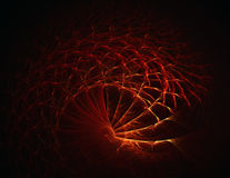 Abstract fiery meshes. Digital generated this image Stock Photo