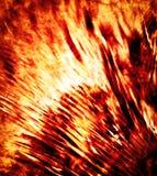 Abstract fiery stream Royalty Free Stock Photo