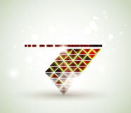 Abstract figure Royalty Free Stock Images
