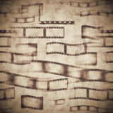 Abstract film strip Royalty Free Stock Images