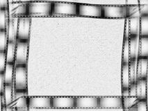 Abstract film strip background Stock Images