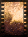 Abstract film strip background. Grunge style film abstract Stock Images