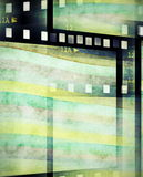 Abstract film strip background. And texture Royalty Free Stock Photos