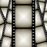 Abstract filmstrip. Abstract composition of movie frames or film strip Royalty Free Stock Photo