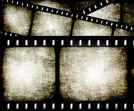 Abstract filmstrip. Abstract composition of movie frames or film strip Stock Images