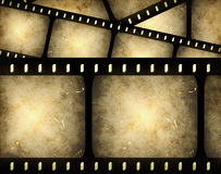 Abstract filmstrip. Abstract composition of movie frames or film strip Stock Photos