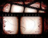 Abstract filmstrip. Abstract composition of movie frames or film strip Royalty Free Stock Photos