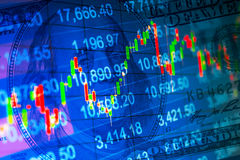 Abstract financial background Stock Photos