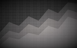 Abstract financial chart with uptrend line graph and stock numbers on gray color background. Abstract financial chart with uptrend line graph and stock numbers Royalty Free Stock Photography