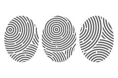 Abstract fingerprints Royalty Free Stock Photography