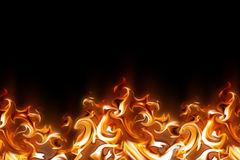 Abstract fire. Ornament - computer generated  for your projects Stock Photos