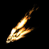 Abstract fire Stock Image