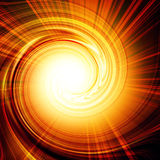 Abstract fire. With a swirl in it Royalty Free Stock Photos