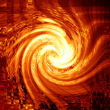 Abstract fire. In a swirl Stock Photo