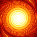 Abstract fire. In a swirl Stock Images