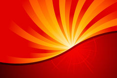 Abstract Fire. Vector illustration of abstract fire Stock Photography