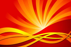 Abstract Fire. Vector illustration of Abstract Fire Royalty Free Stock Photography