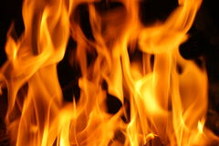 Abstract Fire. Natural Beauty. Background Stock Images
