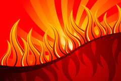 Abstract Fire Royalty Free Stock Image