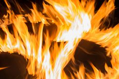 Abstract fire background Stock Photography
