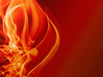 Abstract fire background. Abstract hot red fire background Stock Photo