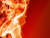 Abstract fire background. Abstract red hot fire background Stock Images