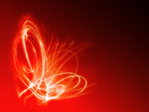 Abstract fire background. Abstract hot red fire explosion background Royalty Free Stock Image