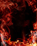 Abstract fire background. Abstract image with fire background Royalty Free Stock Photos