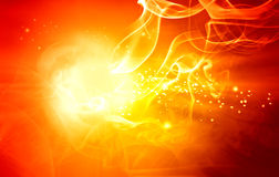 Abstract fire background stock illustration