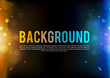 Abstract fire background eps 10 darken Royalty Free Stock Photos