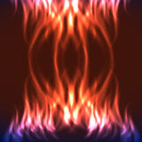Abstract fire background Royalty Free Stock Photography