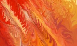 Abstract fire background with fiery red yellow and orange flames in abstract design Royalty Free Stock Photos