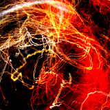 Abstract Fire Background Royalty Free Stock Photos