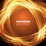 Abstract fire background. Abstract fire ring background, digital style Stock Photos