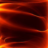 Abstract fire background. With smooth lines Royalty Free Stock Photography