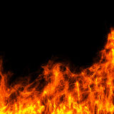 Abstract fire Stock Photography