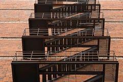 Abstract fire escape Stock Photos
