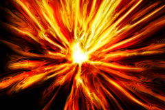 Abstract fire explosion texture. Abstract explode texture generated by the computer Royalty Free Stock Image