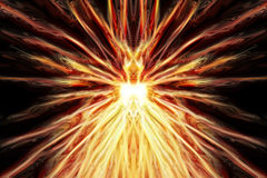 Abstract fire explosion texture. Abstract explode texture generated by the computer Royalty Free Stock Images