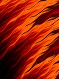 Abstract fire flames on black background. Flame tongue. Abstract fire flames on black background. Vivid fiery pattern. Fractal art Stock Image