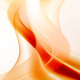 Abstract fire flames illustration Royalty Free Stock Images
