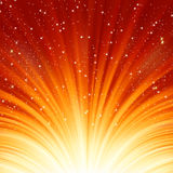 Abstract fire glow background. EPS 8. Vector file included Stock Photography