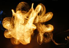 Abstract fire movement Stock Photos